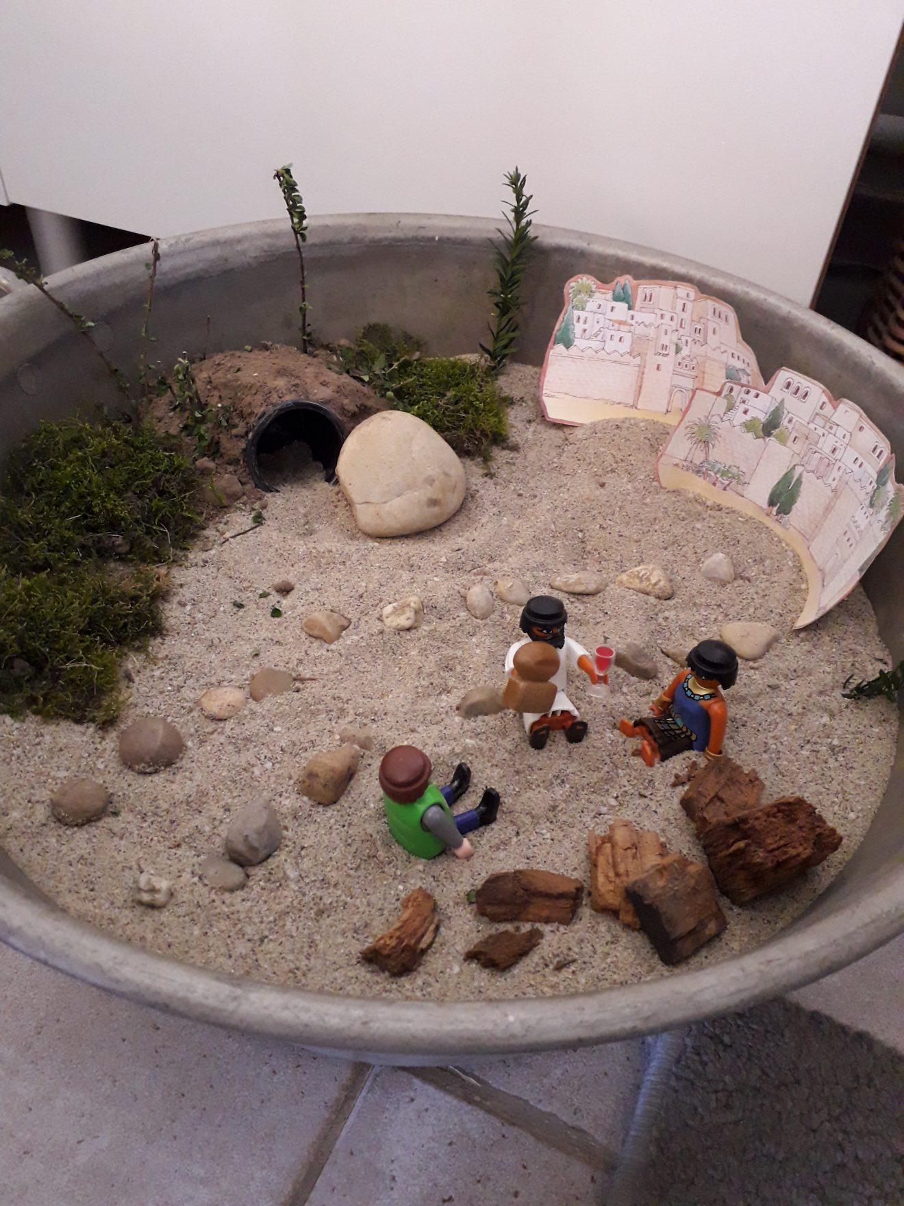 Un dimanche confiné : jardin de Pâques familial