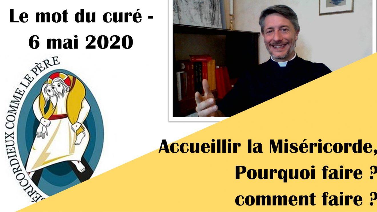 Les mots du curés - mai 2020