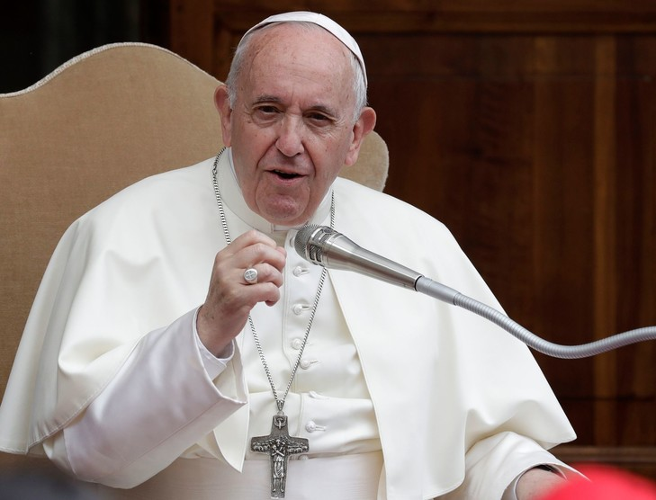 Pape Francois - août 2019