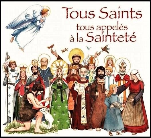 La Toussaint : être dans la joie, être saint, c'est synonyme